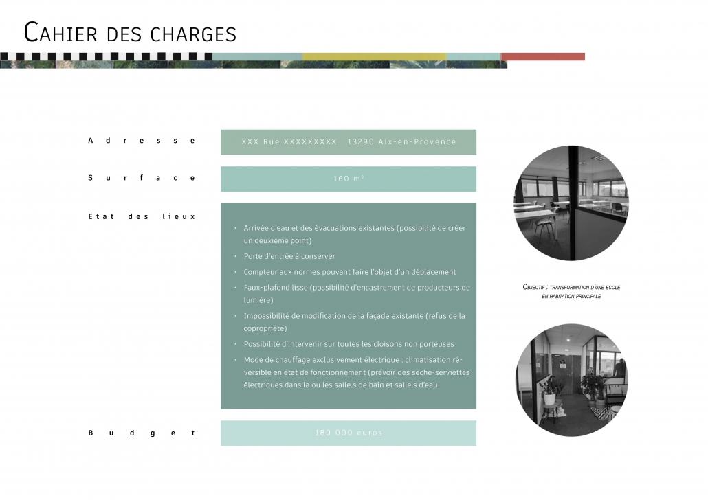 cahier des charges travaux rénovation avant-projet sommaire prestation décoration architecture d'intérieur offre état des lieux entretiens à domicile visite conseil client