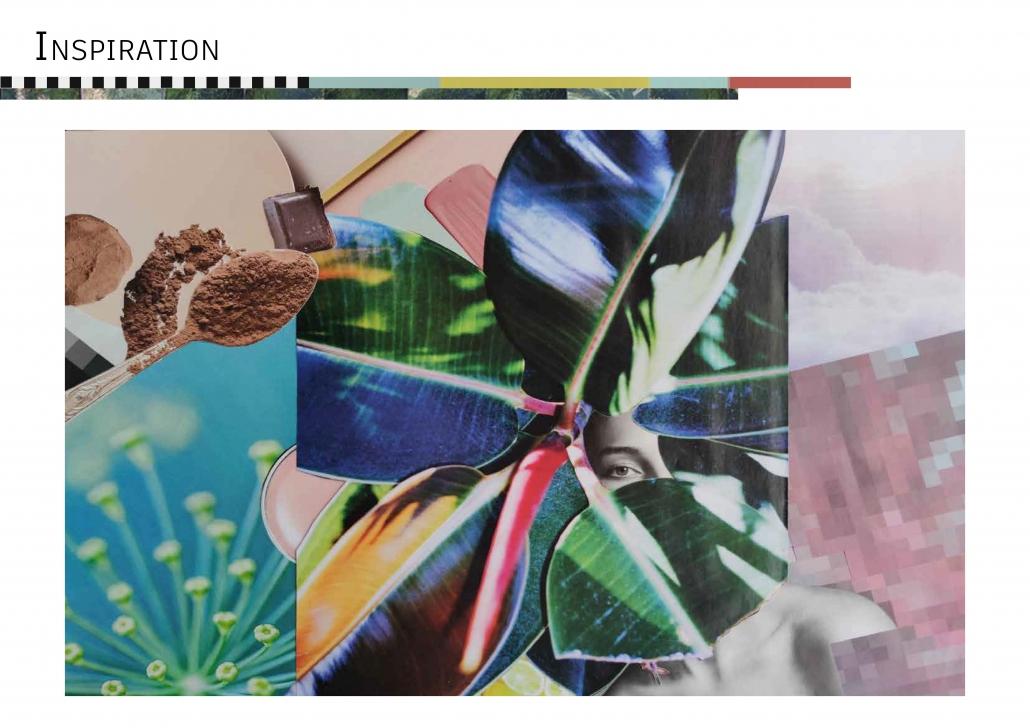 planche inspiration décoration architecture d'intérieur atelier rénovation rose vert bleu harmonie multicolore prestation avant-projet sommaire