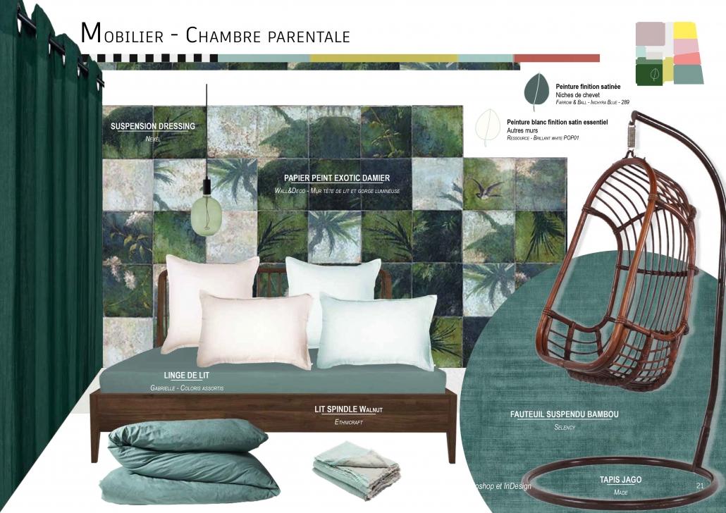 choix ambiance sélection matières matériaux textiles bois peinture peint