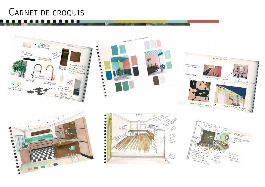 valider des ambiances sélectionner des matériaux se projeter choix teintes tons couleurs revêtements