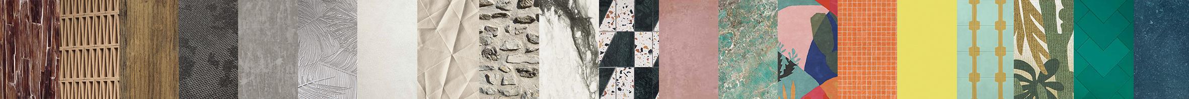 architecture d'intérieur bois Terrazzo marbre pierre bleue du Hainaut chaux mosaïque carreau de ciment pierre vue carreau grès céram tapis textile